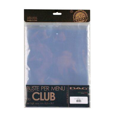 Vložky do jídelních lístků DAG Style formát CLUB, 10 ks(BUXCL)