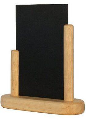 Stolní stojánek s popisovací tabulkou malý, přírodní(ELE-B-SM)