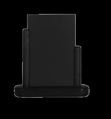 Stolní stojánek s popisovací tabulkou malý, černá(ELE-BL-SM)
