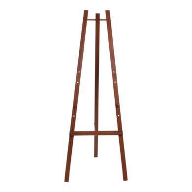 Dřevěný třínohý stojan 165 cm, mahagon(EZL-M-165)