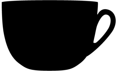 Popisovací tabule ŠÁLEK s popisovačem a lepící páskou, černá(FB-CUP)