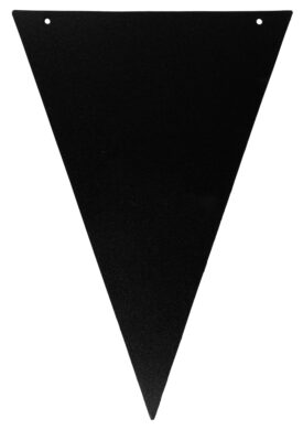 Popisovatelné vlaječky se šňůrou 4 m a popisovače, 12 ks, Black(FB-FLAG)