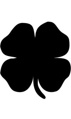 Popisovací tabule ČTYŘLÍSTEK s popisovačem a lepící páskou, černá(FB-FOURLEAF)