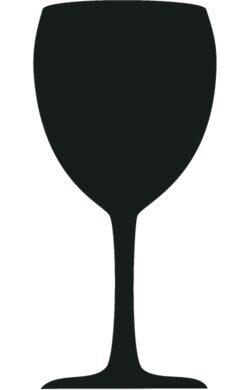 Popisovací tabule SKLENICE s popisovačem a lepící páskou, černá(FB-GLASS)