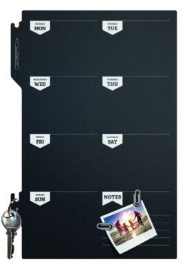 Popisovací týděnní plánovací tabule 30x45 cm s popisovačem a připevň. páskami.(FB-PLAN)