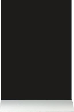 Stolní popisovací tabule OBDÉLNÍK s popisovačem, hliníkový stojánek(FBTA-A4)