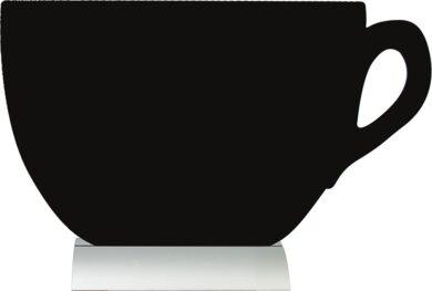 Stolní popisovací tabule s hliníkovým stojánkem a 1popisovačem A4 CUP(FBTA-CUP)