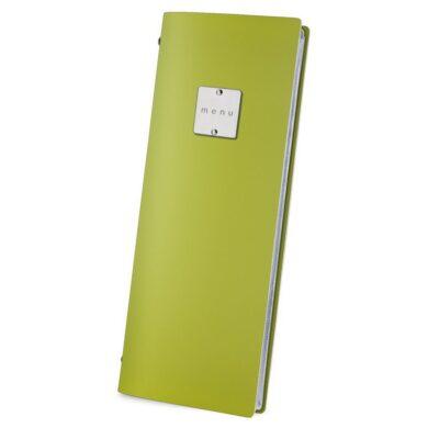 Jídelní lístek DAG Style, formát CLUB, kovový štítek, Green(FCCL3VM)
