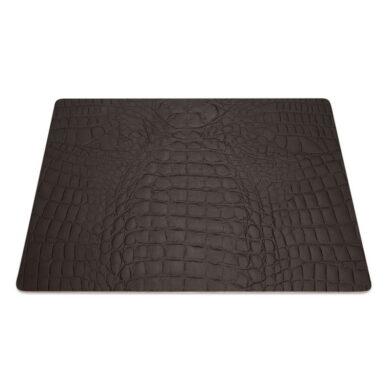 Podložky čtvercové DAG Style 9 kusů, 31x41 cm, Brown Kroko(FCTOCZ)