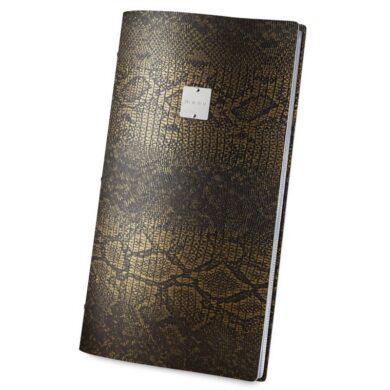 Jídelní lístek DAG Style, formát MAXI, kovový štítek, Gold Brown(GOMA3MM)
