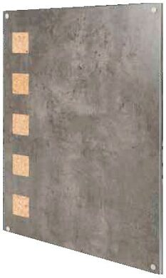 Popisovací tabule Living Wall s korkovými čtverci, 78x58 cm(LW-GY-78)