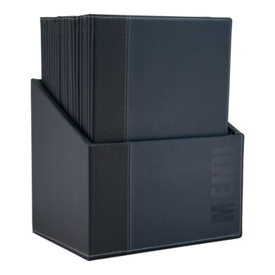 Box s jídelními lístky TRENDY,modrá (20 ks)(MC-BOX-TRA4-BU)