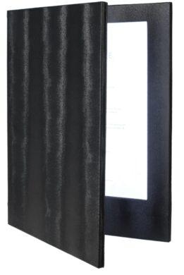 Jídelní lístek LED, osvělený, A4, černá(MC-LDA4-BL)