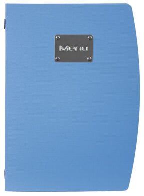 Jídelní lístek RIO A4, modrá(MC-RCA4-BU)