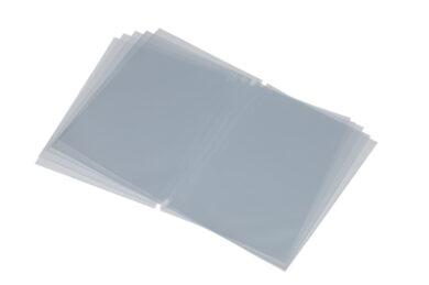 Vložky k jídelním lístkům, vysoké, 4 zobrazené strany, 10 ks(MC-TI45)