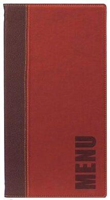 Jídelní lístek TRENDY vysoký, vínově červená(MC-TR45-WR)