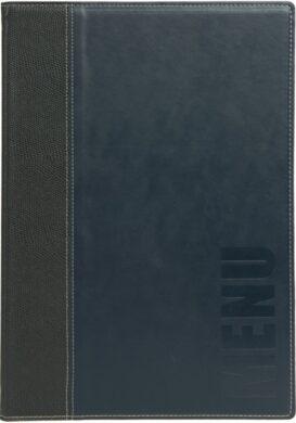 Jídelní lístek TRENDY A4, modrá(MC-TRA4-BU)