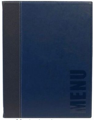 Jídelní lístek TRENDY A5, modrá(MC-TRA5-BU)
