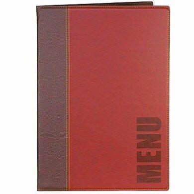 Jídelní lístek TRENDY A5, vínově červená(MC-TRA5-WR)