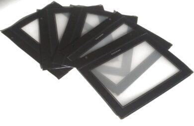 Vložky k jídelním lístkům WOOD A5, černá (5 ks)(MC-WIA5-BL)