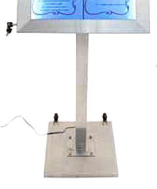 Stojan k barevným informačním LED displejům  G1+G2(MCS-BA-120-SET)