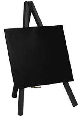 Stolní stojánek s popisovací tabulkou MINI (1ks) Černý(MNI-BL-KR-1)