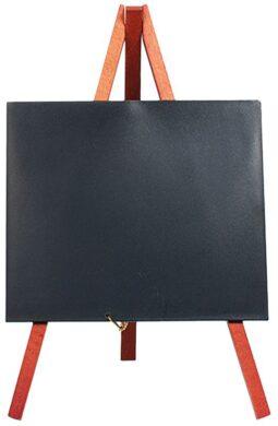 Stolní stojánek s popisovací tabulkou MINI (1ks) Mahagon(MNI-M-KR1)