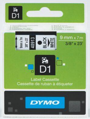 DYMO páska D1 9mm x 7m, černá na bílé(NCS0720680)