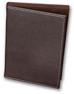 Krabička na účty, peníze a mince 14x20 cm, hnědá(NT4006KC)