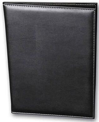 Jídelní lístek 23x32 cm (A4) s kordem, černý(NT4037SC)