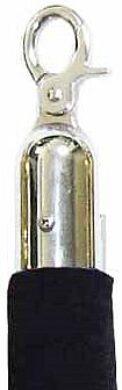 Koncovka k oddělovacím lanům  28 mm, chrom(OSTLA101)