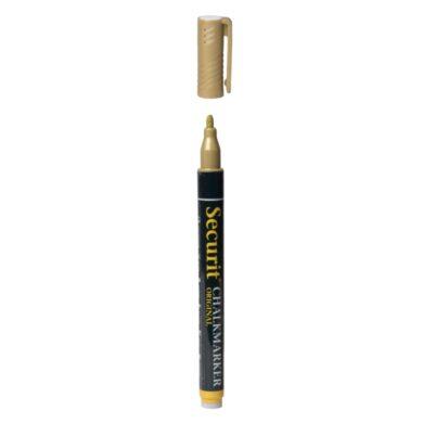 Mikro křídový popisovač, šířka hrotu: 1 - 2 mm, Gold(SMA100-GD)
