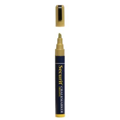 Střední popisovač, šířka hrotu 2-6 mm, zlatá(SMA510-GD)