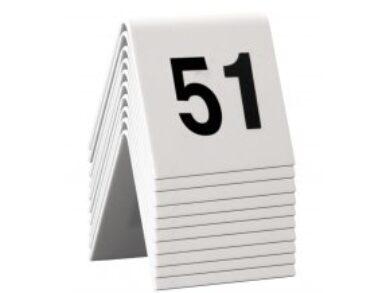 Rozlišovací tabulky s čísly 51až60 (celkem 10ks)(TN-51-60)