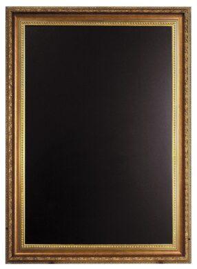 Nástěnná popisovací tabule GOLD 65x85 cm, zlatý ozdobný rám(WBC-G-85)