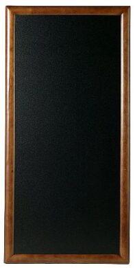 Nástěnná popisovací tabule LONG 56x100 cm, tmavě hnědá(WBL-DB-100)
