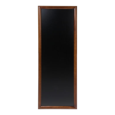 Nástěnná popisovací tabule LONG 56x150 cm, tmavě hnědá(WBL-DB-150)
