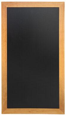 Nástěnná popisovací tabule LONG 56x100 cm, teak(WBL-TE-100)