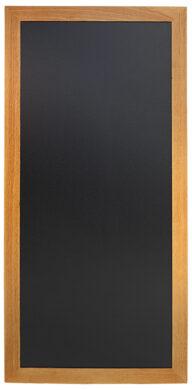 Nástěnná popisovací tabule LONG 56x120 cm, teak(WBL-TE-120)