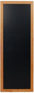 Nástěnná popisovací tabule LONG 56x150 cm, teak(WBL-TE-150)