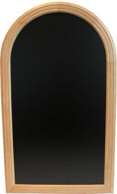 Nástěnná popisovací tabule RONDO 50x35 cm, přírodní dřevo doprodej(WBR-B-35)