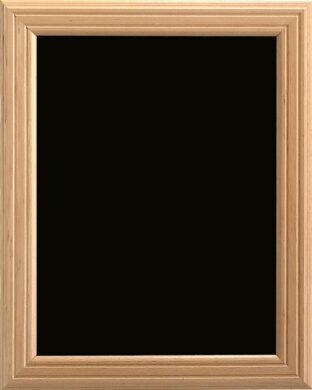 Nástěnná popisovací tabule UNIVERSAL, 50x60 cm, přírodní dřevo - doprodej(WBU-B-50)