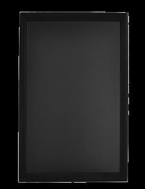 Nástěnná popisovací tabule UNIVERSAL, 70x90 cm, černá(WBU-BL-70)
