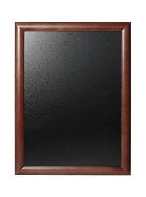 Nástěnná popisovací tabule UNIVERSAL, 40x50 cm, tmavě hnědá(WBU-DB-40)
