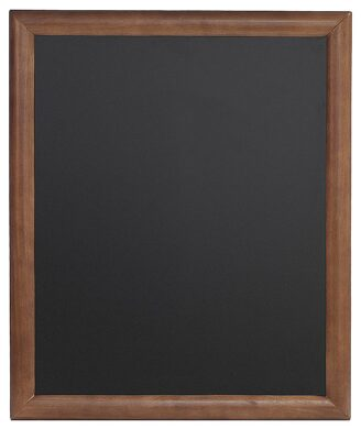 Nástěnná popisovací tabule UNIVERSAL, 50x60 cm, tmavě hnědá(WBU-DB-50)