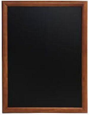 Nástěnná popisovací tabule UNIVERSAL, 60x80 cm, tmavě hnědá(WBU-DB-60)