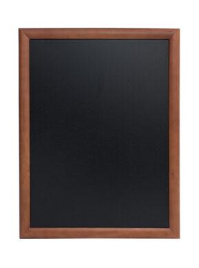 Nástěnná popisovací tabule UNIVERSAL, 70x90 cm, tmavě hnědá(WBU-DB-70)