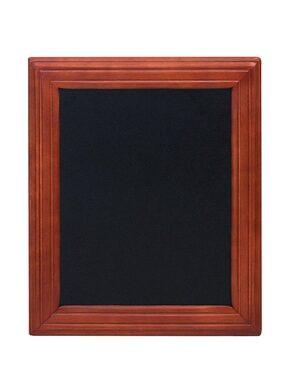 Nástěnná popisovací tabule UNIVERSAL, 30x40 cm, mahagon(WBU-M-30)