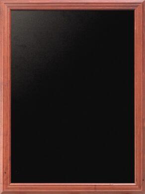 Nástěnná popisovací tabule UNIVERSAL, 70x90 cm, mahagon(WBU-M-70)