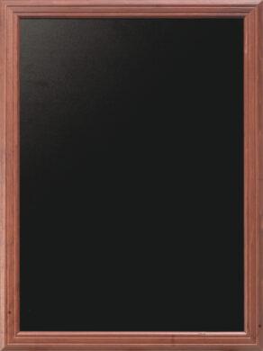 Nástěnná popisovací tabule UNIVERSAL, 80x100 cm, mahagon(WBU-M-80)